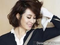 Kim Hye Soo для Noblesse March 2015