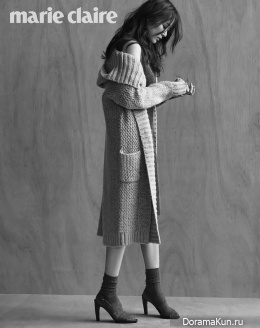 Kim Hyo Jin для Marie Claire December 2015