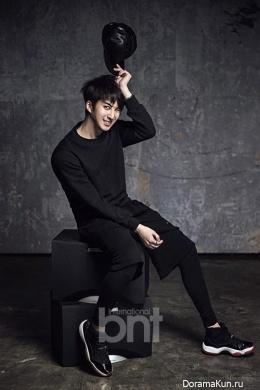Kim Hyung Jun для BNT International January 2015