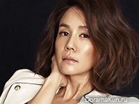 Kim Ji Ho для InStyle March 2015