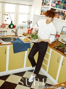 ZE:A (Kwanghee), Kim Ji Hoon для SURE April 2015