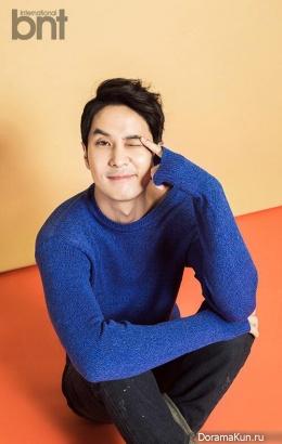 Kim Ji Suk для BNT International March 2015
