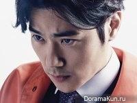 Kim Kang Woo, Park Hee Soon для First Look April 2015