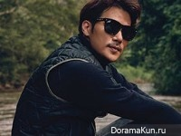 Kim Kang Woo для Marie Claire October 2015