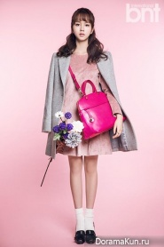 Kim So Hyun для BNT International December 2014