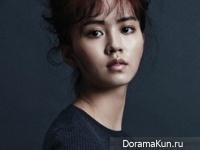 Kim So Hyun для Elle October 2014 Extra