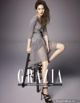 Kim Soo Hyun для Grazia March 2015