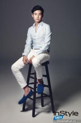 Kim Soo Hyun для InStyle Men September 2014