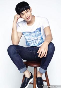 Kim Soo Hyun для ZIOZIA Summer 2015 CF
