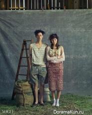 Jin Jung Sun, Kim Won Joong для Vogue April 2015