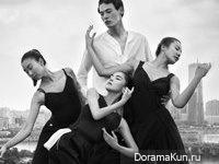 Kim Won Joong для W Korea August 2015