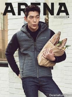 Kim Woo Bin для Arena Homme Plus October 2015
