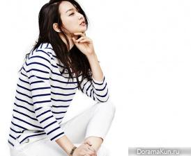 Shin Min Ah, Kim Woo Bin для Giordano Spring 2015 Extra