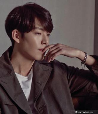 Kim Woo Bin для Max Movie January 2015