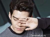 Kim Woo Bin для SIEG FAHRENHEIT F/W 2015