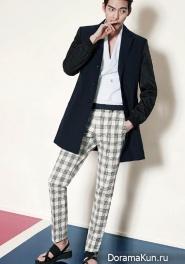 Kim Woo Bin для SIEG FAHRENHEIT S/S 2015 Extra