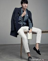 Kim Woo Bin для SIEG FAHRENHEIT S/S 2015