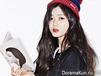 Kim Yoo Jung для Oh Boy! February 2015
