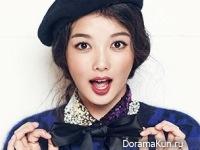 Kim Yoo Jung, Park Seon Ho для The Celebrity December 2014