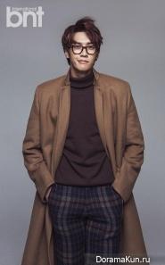 Kim Young Kwang для BNT International November 2014