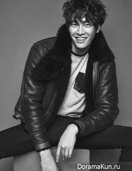 Kim Young Kwang для Elle Men Hong Kong October 2015