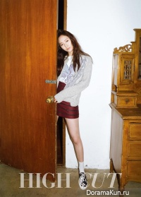 f(x) Krystal для High Cut Magazine Vol.142