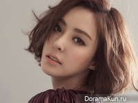 Lee Da Hee для InStyle March 2015