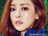 Lee Da Hee для SURE December 2015