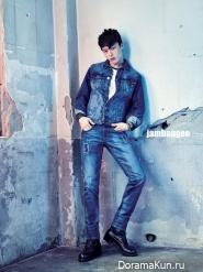 Lee Ho Jung, Jang Ki Yong для Jambangee S/S 2015
