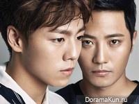 Kim Moo Yul, Jin Goo, Lee Hyun Woo для Harper's Bazaar June 2015