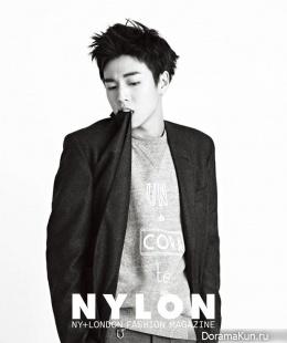 Lee Hyun Woo для Nylon January 2015