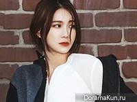 Lee Ji Ah для Harper's Bazaar November 2014