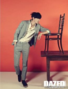 Lee Jong Suk для Dazed and Confused 2014