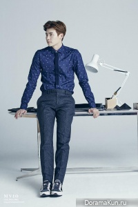Lee Jong Suk для MVIO F/W 2015 Ads