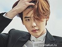 Lee Jong Suk для Marie Claire December 2015