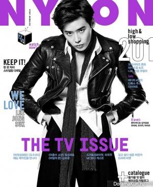 Lee Jong Suk для NYLON October 2014