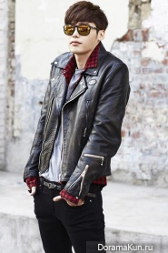 Lee Jong Suk для Oakley 2014 CF Extra
