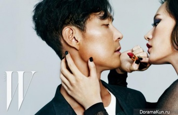 Lee Jung Jae для W Korea April 2015