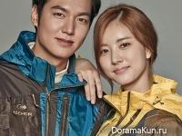 Lee Min Ho для EIDER Fall 2014 CF Extra