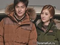 Lee Min Ho для EIDER Fall 2014 CF