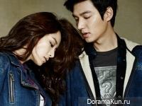 Lee Min Ho для GUESS JEANS F/W 2014 CF Extra