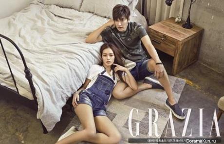 Lee Min Ho для Grazia April 2015