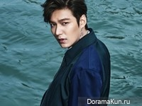 Lee Min Ho для W Korea 2015 Extra