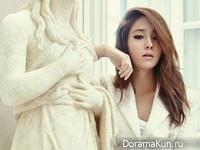 Lee Min Jung для Cosmopolitan September 2014 Extra