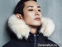 Lee Soo Hyuk для Harper's Bazaar December 2014