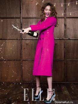 Lee Sung Kyung и др. для Elle December 2014