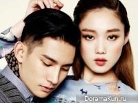 Lee Sung Kyung, Park Hyeong Seop для Grazia February 2015