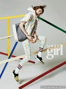 Lee Sung Kyung для Vogue Girl April 2015