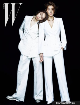 Kim Sung Ryun, Lee Sung Kyung для W Korea May 2015