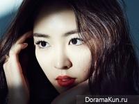 Lee Yeon Hee для Harper's Bazaar February 2015
